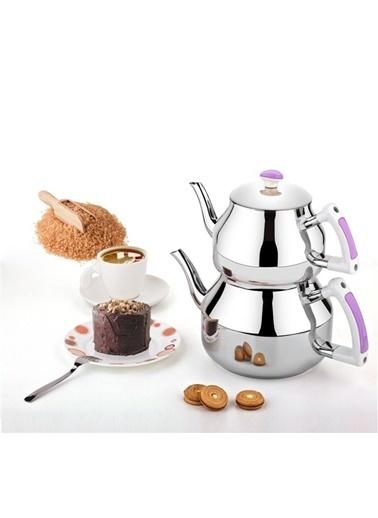 Özkent Hüma Mini Çaydanlık Lila Mor